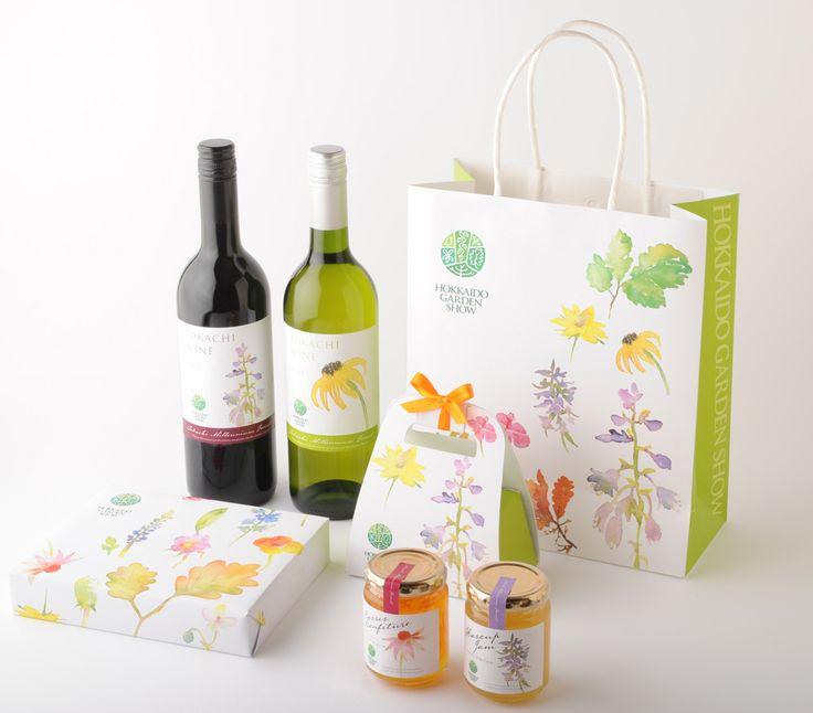 Hokkaido Garden Show's package design. Beautiful packaging to start your day PD