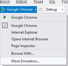 Cross Browser Debugging integrated into Visual Studio with BrowserStack (http://www.hanselman.com)