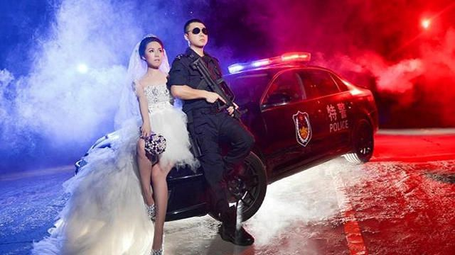 SWAT Cop Takes Coolest Wedding Photos Ever | Broken News Daily - Yahoo Screen
