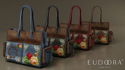 Eudora 3D Vintage Set Limited Edition Gamma Bags | Flickr - Photo Sharing!