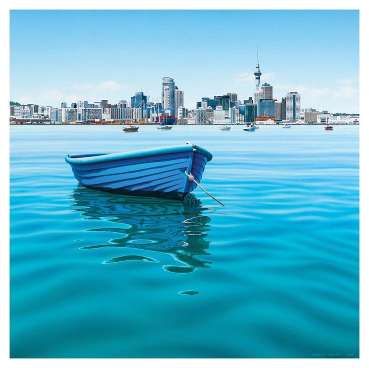 Blue Dinghy Day | Bellamy Gallery