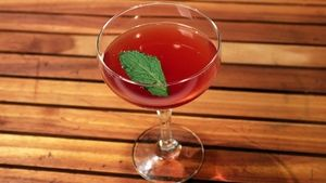 Cherry Sake Cocktail Recipe | The Chew - ABC.com