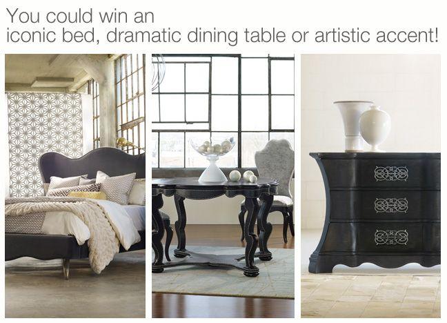 die besten 17 bilder zu hooker furniture auf pinterest, Esstisch ideennn