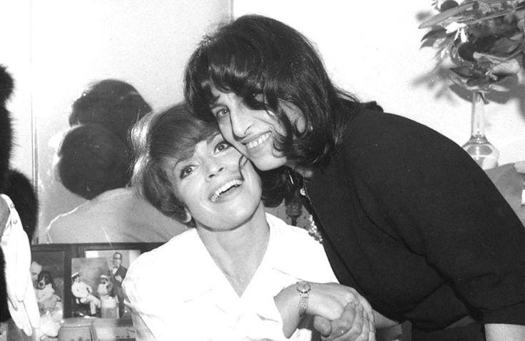 Franca Valeri e Anna Magnani