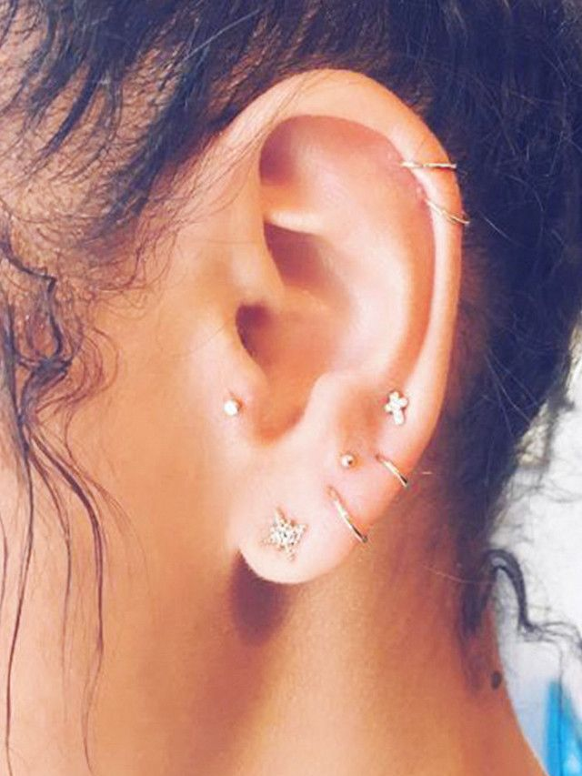 Of all the accessories trends out there, this is one of the coolest—and easiest. Check out what constellation piercings actually are.