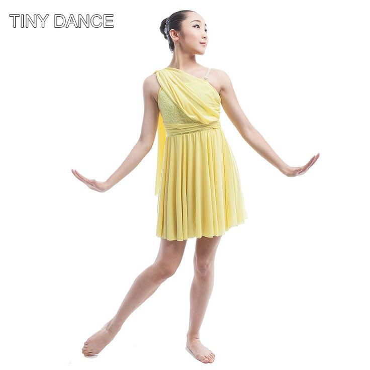 Find More Ballet Information about Girls Ballet & Lyrical & Contemporary Dance Dress Yellow/Red Sequin Chiffon Dress Stage Performance Costume Dancing Dress 16035,High Quality contemporary dance dress,China girls ballet Suppliers, Cheap ballet girl from Love to dance on Aliexpress.com