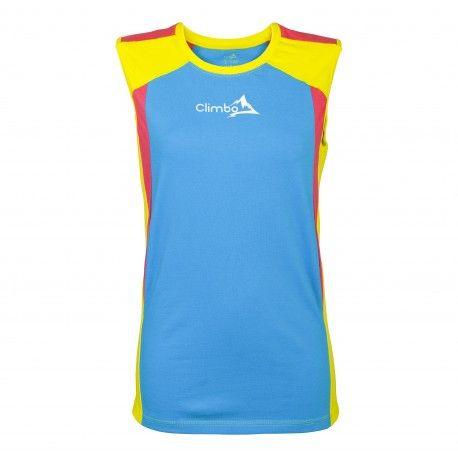 Climbo ACTIV series sleeveless shirt http://www.climboactive.com/presta/prestashop/pl/women/3-activ-series-bezrekawnik-damski.html