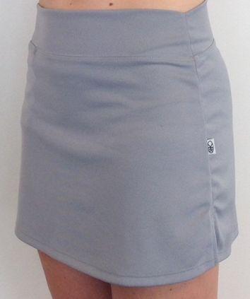 Example sportswear : Silver Aroha Nui Skirt Kori Kita www.korikita.co.nz
