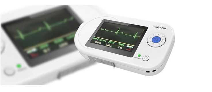 Best Visual Digital Stethoscope ECG SPO2 PR Electronic Diagnostic USB Multi Function Clinical Probe EKG Home Use HR CMS-VESD #Affiliate