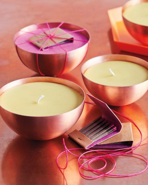 Make these Citrus and Spice Scented Candles