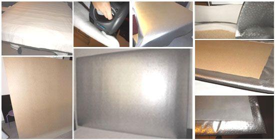 Plus de 1000 id es propos de r fection fauteuils sur pinterest - Fabrication d une tete de lit ...