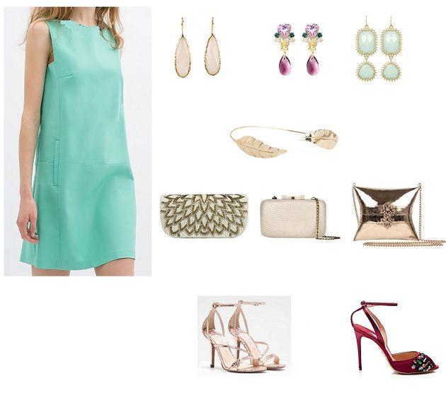 ... Pinterest | Vestidos, Vestidos verde agua cortos e Vestidos de festa