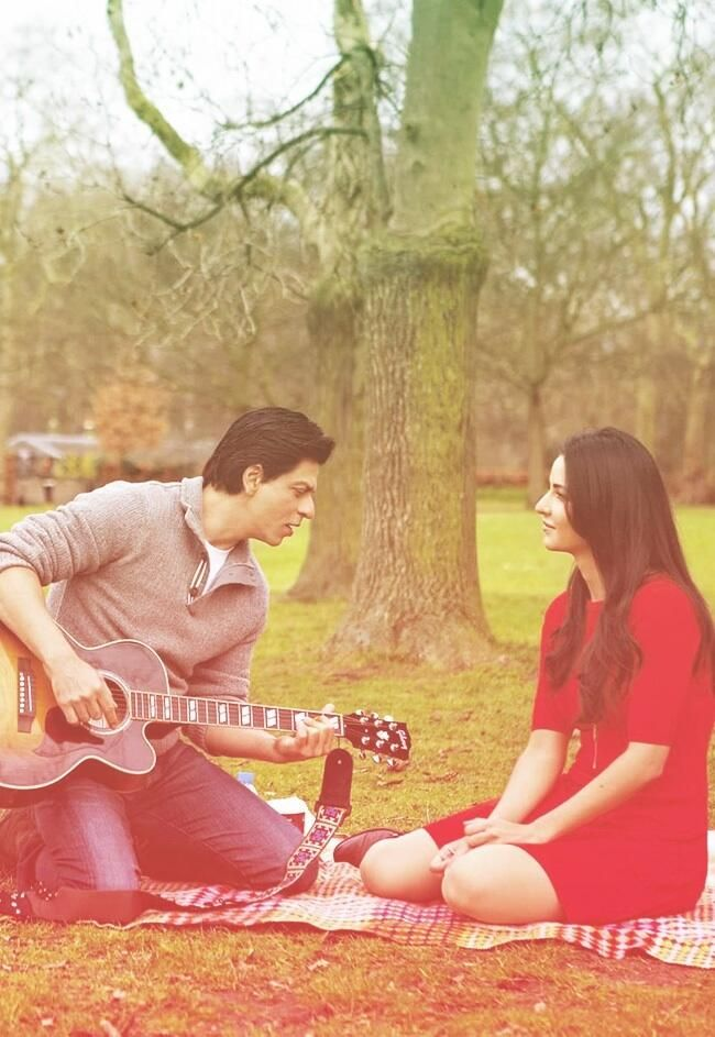 Shah Rukh Khan and Katrina Kaif -  Jab Tak Hai Jaan (2012)