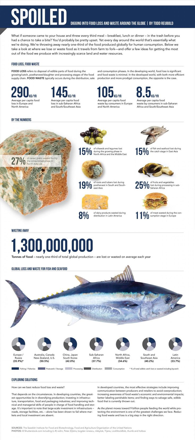 Infographic US): The Rotten World of Food Waste