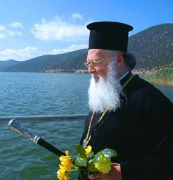 Ecumenical Patriarch Bartholomew of Constantinople, who has been called the Bridge Builder and the Patriarch of Peace. Although he is the spiritual leader of 250 million Orthodox Christians, Bartholomew suffers constant harassment by a hostile Turkish government and persistent attacks by extremists who want to wipe him and his office out of existence. He has been cursed,  spat upon, has seen his office windows broken by rocks and even had live grenades thrown at him.