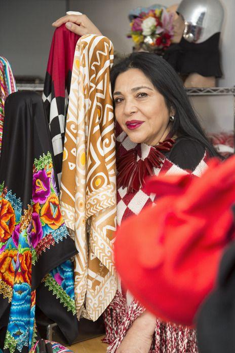 Meche Correa: Deseo que mi moda se identifique con Perú. | Caras de la Información