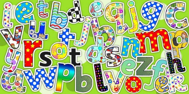 Display Lettering Variety Pack - display letter, classroom set up