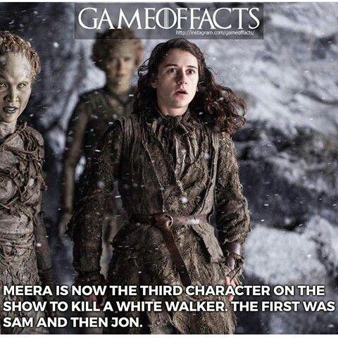 Game of thrones facts #got #bran #whitewalker