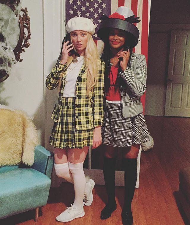 AS IF! Cher & Dionne #clueless #bff #halloween @kathleennb ...