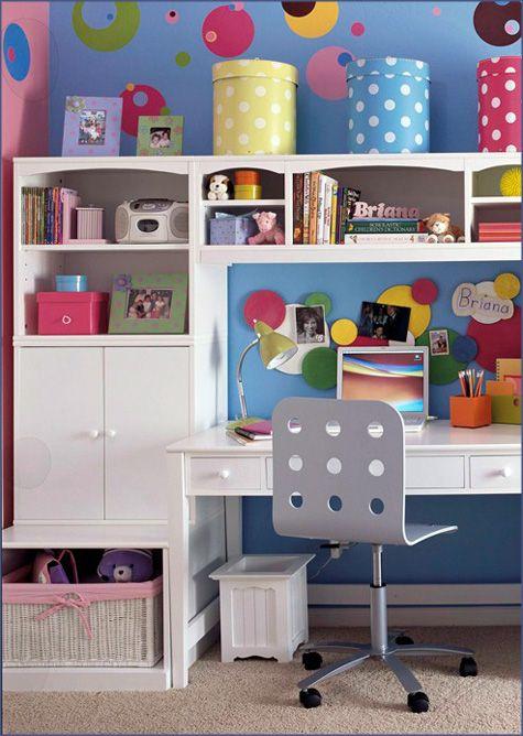 Kids Desk Storage Ideas