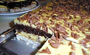 Úžasne krémový koláč Raffaello