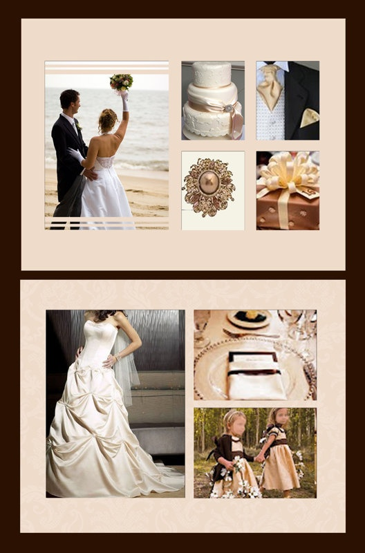 Enlaced Pink And White Photobook Template By Blue Angel Wedding Photo Bookswedding