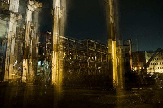 Centralværkstedet, night