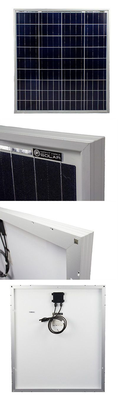 Solar Panels 41981: Mighty Max 80 Watts Solar Panel 12V Poly Off Grid Battery Charger For Yachts -> BUY IT NOW ONLY: $84.95 on eBay!