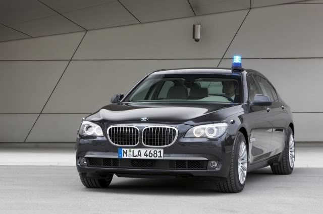 BMW new 7 Series High Security bullet-proof car