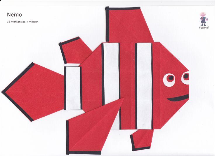 Nemo - 16 vierkantjes en vliegers