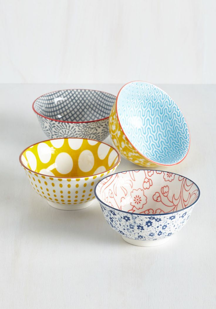 As a Matter of First Course Bowl Set, @ModCloth