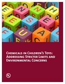 Children's toy safety has been regulated in the U.S. and EU for decades.  However, manufacturers can still improve safety by considering the chemicals used in products.  Learn more about these considerations in this white paper.  http://lms.ulknowledgeservices.com/common/ncsresponse.aspx?rendertext=environmentthoughtleadership#