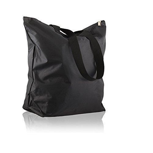 Oferta: 12.99€. Comprar Ofertas de Weimi de la mujer de nailon impermeable ligero bolso Shopper bolsa de la compra varios colores, negro (negro) - U0173 barato. ¡Mira las ofertas!