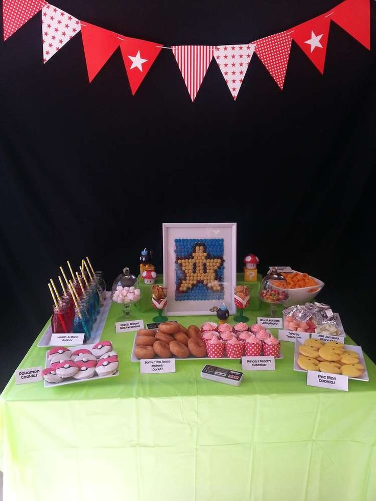 Video Game Birthday Party Ideas | Photo 2 of 6 | Catch My Party