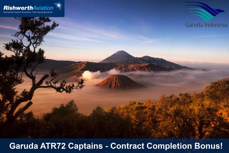 November screenings with Garuda Indonesia! ATR72 Captains - Don't miss out! http://ow.ly/TYDUc #RishworthAV #aviation #jobs