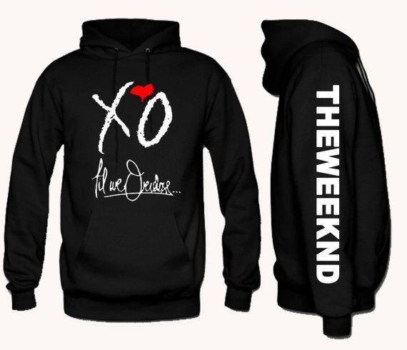 The weeknd hoodies, xo hoodie, ovoxo, drake, asap, rocky, till overdose hoodie