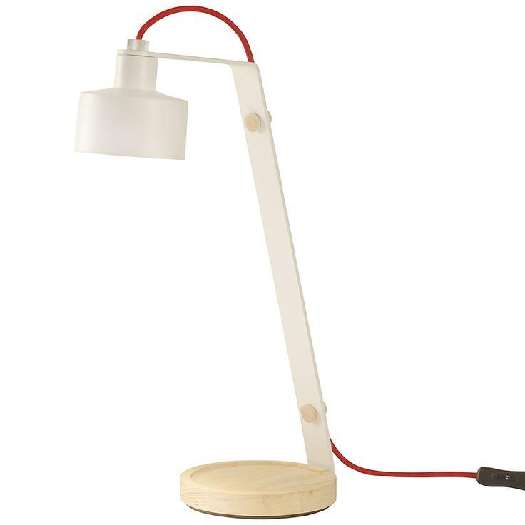free lampe de bureau led design jazz blanc calabaz visuel with miroir loge maison du monde. Black Bedroom Furniture Sets. Home Design Ideas