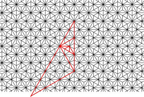Labyrinth tilings (aperiodic)