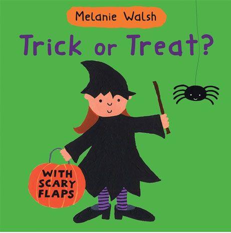 Libri in inglese a tema Halloween - Trick or Treat? di Melanie Walsh