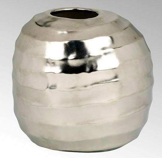 Vase silber, B/T/H, »Santana«, LAMBERT Jetzt bestellen unter: https://moebel.ladendirekt.de/dekoration/vasen/tischvasen/?uid=11e6609d-e77f-5a5f-8688-6090ff9dfa74&utm_source=pinterest&utm_medium=pin&utm_campaign=boards #tischvasen #vase #vasen #dekoration
