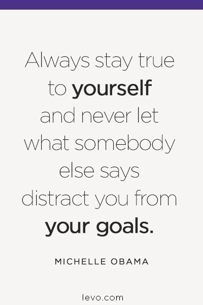 Inspired #quotes - Stay true to yourself. #levoinspired www.levo.com