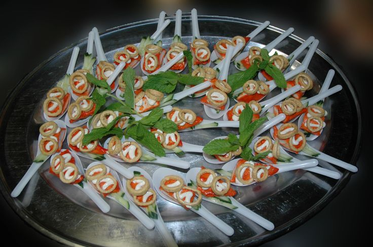 Chicken Tandoori & Cucumber Bouchee #palmmeadows #canapes