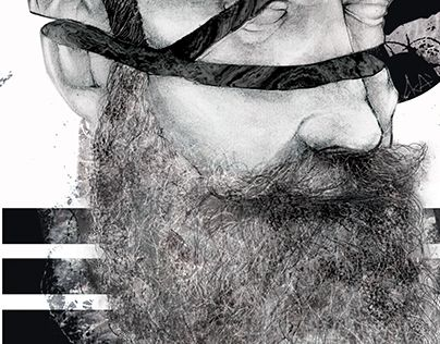 "Check out new work on my @Behance portfolio: ""NOUVELLE BARBE"" http://be.net/gallery/33282113/NOUVELLE-BARBE"