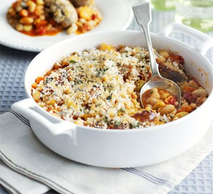 Warm yourself up on a chilly night with this comforting one-pot, and avoid the washing-up too