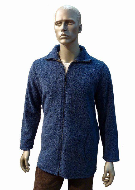 Parka Homewear Barandi, polar azul