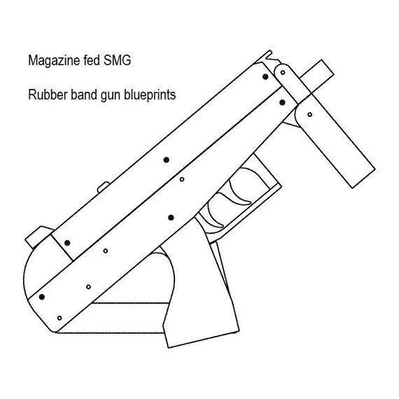 The 569 best rubber band gun images on pinterest rubber band gun magazine fed rubber band gun plans malvernweather Images