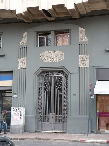 #ArtDeco | Apartment building, Montevideo, Uruguay