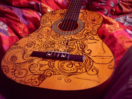 What I am planning to do with my old guitar :)