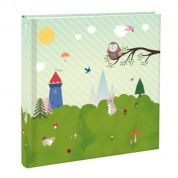 Milestone fotoalbum: album voor baby's eerste jaar.