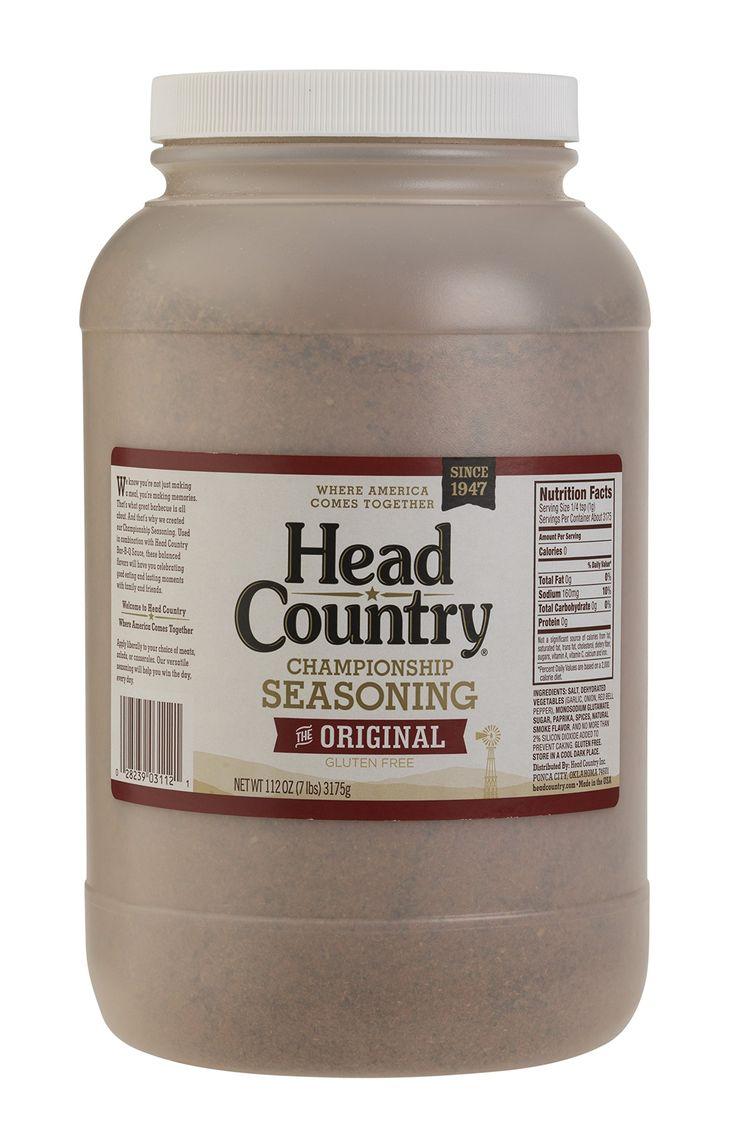 Head Country Bar-B-Q Championship All Purpose Seasoning, 7 Pound